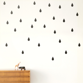 vinilo-mini-drops-negro-ferm-living
