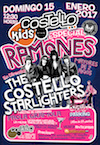 Cartel Costello Kids Especial Ramones